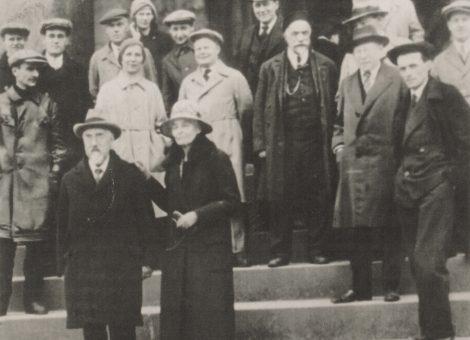 Видные английские общественные деятели Сидней и Беатриса Вебб в СССР. 1932 год.