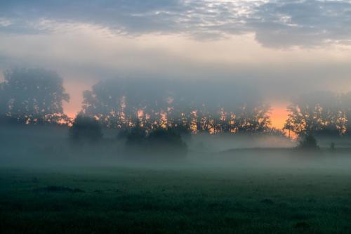 Kirill Tsybenko Рассветный туман на Нерли